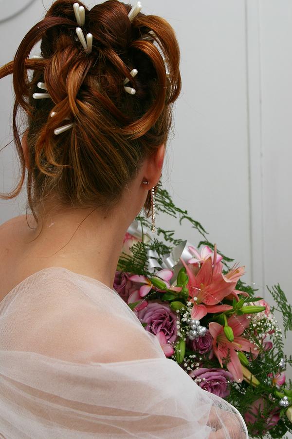 Wedding Hairstyle Y32 – MIA UpDo Elegant Look