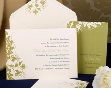 Wedding Invitations Design No. 03