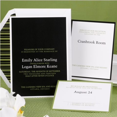 Wedding Invitations Design No. I07