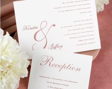 Wedding Invitations Design No. 14