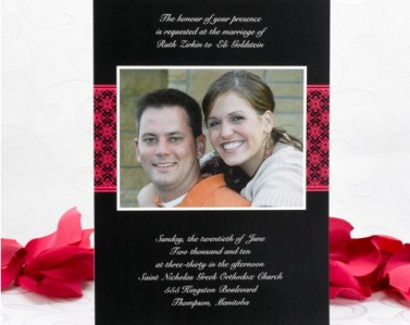 Wedding Invitations Design No. 19