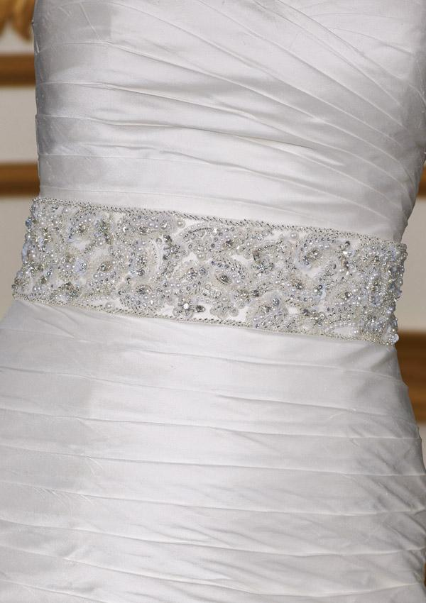 Crystal Beaded Belt Style 46