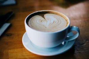 Latte heart art at your wedding